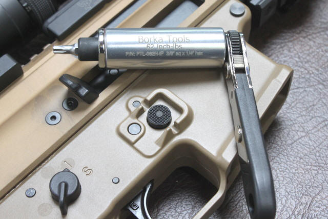 Borka PTL062K for FN SCAR 16/17 rifles